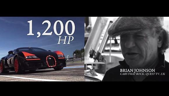 Bugatti Veyron: Lanzan video para celebrar 10 años del modelo