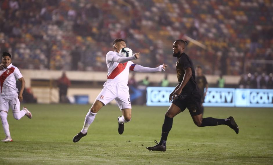 Perú vs. Costa Rica: Paolo Guerrero volvió a vestir la camiseta nacional luego de Rusia 2018 | Foto: Giancarlo Ávila/GEC