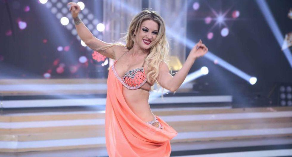 Leslie en la pista de baile. (Foto: Difusión)