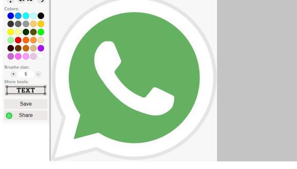 Aún falta mucho para que la herramienta de edición básica de fotos salga de manera oficial a WhatsApp. Prueba este truco para editar imágenes desde la PC. (Foto: Mag)