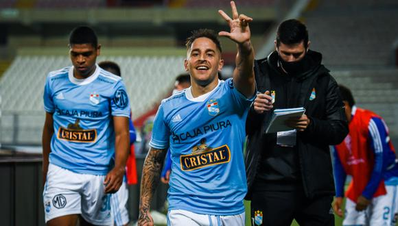 Alejandro sumó su tercer gol a nivel internacional con camiseta celeste. (Foto: Sporting Cristal)