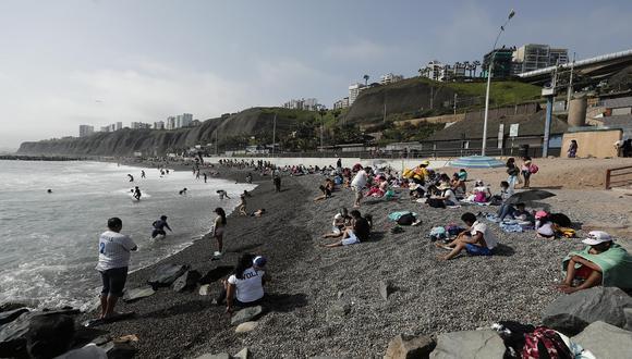 Visitantes a las playas deberán cumplir una serie de disposiciones a fin de evitar la transmisión del COVID-19. (Foto: Leandro Britto/GEC)