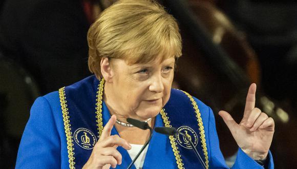 El revés de los partidos oficialistas no fue tan duro como se temía y los resultados aliviaron cierta presión sobre la coalición gobernante liderada por la canciller Angela Merkel. (AP)