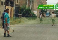 WhatsApp: cierran pista de Los Olivos para jugar tenis