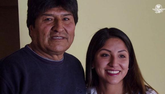 Polémica por vacunación contra el coronavirus de la hija del expresidente Evo Morales, Evaliz. (Captura de video/YouTube).