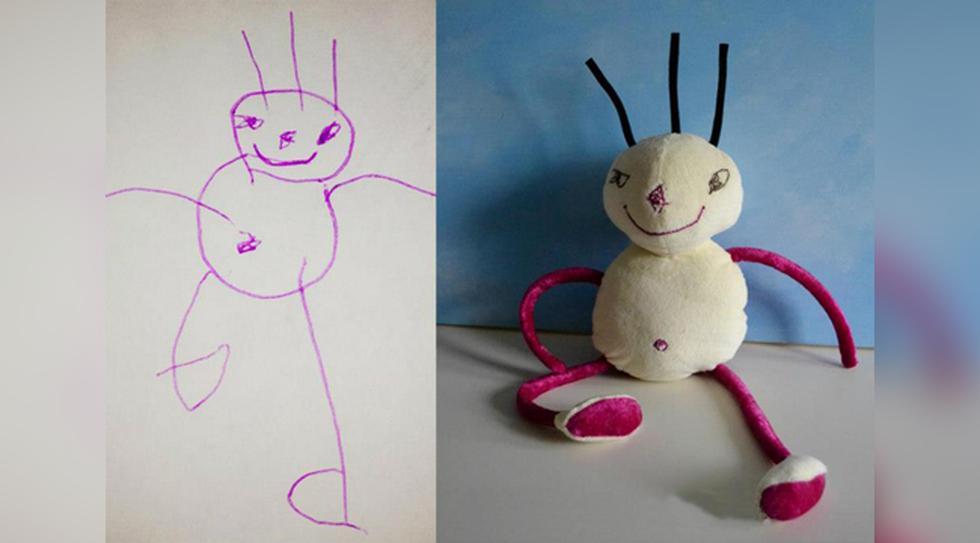 Los Dibujos De Tus Hijos Ahora Pueden Acompanarlos Toda Su Vida Viu El Comercio Peru