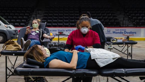 Coronavirus en Estados Unidos  (Photo by ARIANA DREHSLER / AFP)