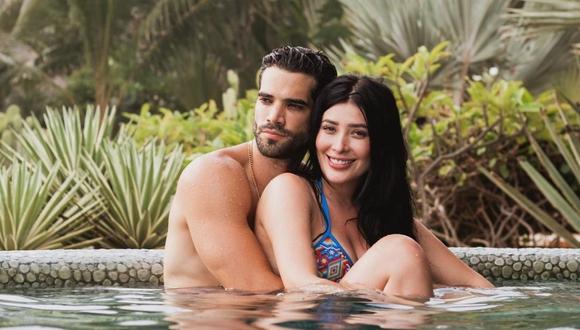 Brenda Zambrano confiesa que tuvo problemas en su relación sentimental con Guty Carrera . (Foto: @brendazambranoc)