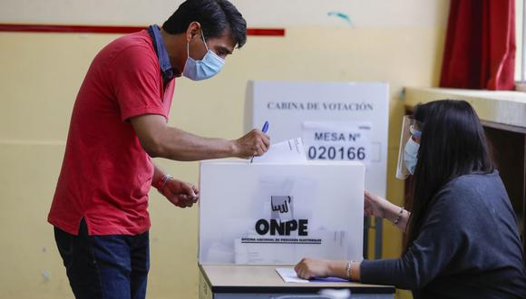Los peruanos deberán acudir a los centros de votación este domingo 11 de abril. (Foto: Andina)
