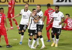 Huancayo cayó goleado por Corinthians y quedó prácticamente eliminado de la Sudamericana