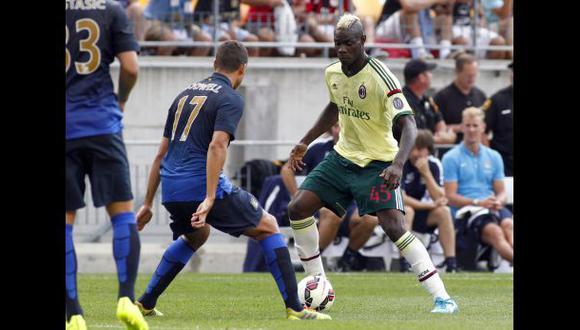 Manchester City goleó al Milan por International Champions Cup