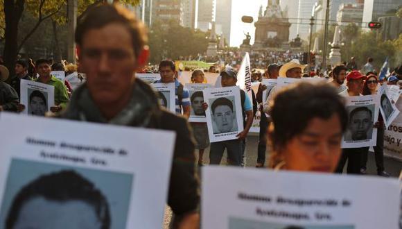Restos óseos son de uno de los 43 desaparecidos en México