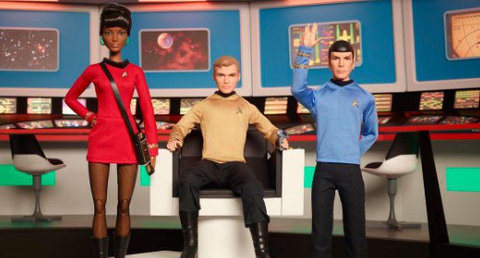 Twitter: conoce a la tripulación de Barbie en Star Trek