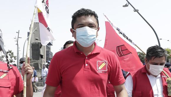 """El virtual legislador de Perú Libre Guillermo Bermejo aseguró que """"si tomamos el poder, no lo vamos a dejar"""". (Foto: El Comercio)"""