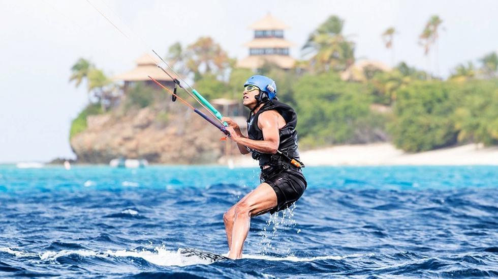 Las fotos de Obama durante sus lujosas vacaciones en el Caribe - 2