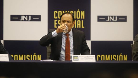 Walter Gutiérrez  registra llamadas con investigados por Los Cuellos Blancos entre el 2016 y 2018. (Foto: Renzo Salazar / GEC)