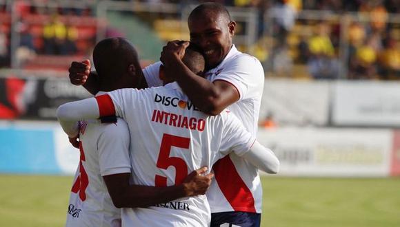 LDU de Quito se impuso 3-1 ante Aucas por la jornada 20° de la Serie A de Ecuador. El encuentro se dio en el Estadio Gonzalo Pozo Ripalda (Foto: Twitter)