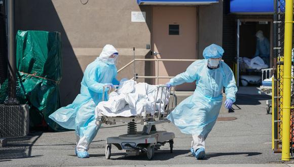Universidad de Washington pronostica 180.000 muertes en Estados Unidos por coronavirus para octubre (Foto: Bryan R. Smith / AFP).