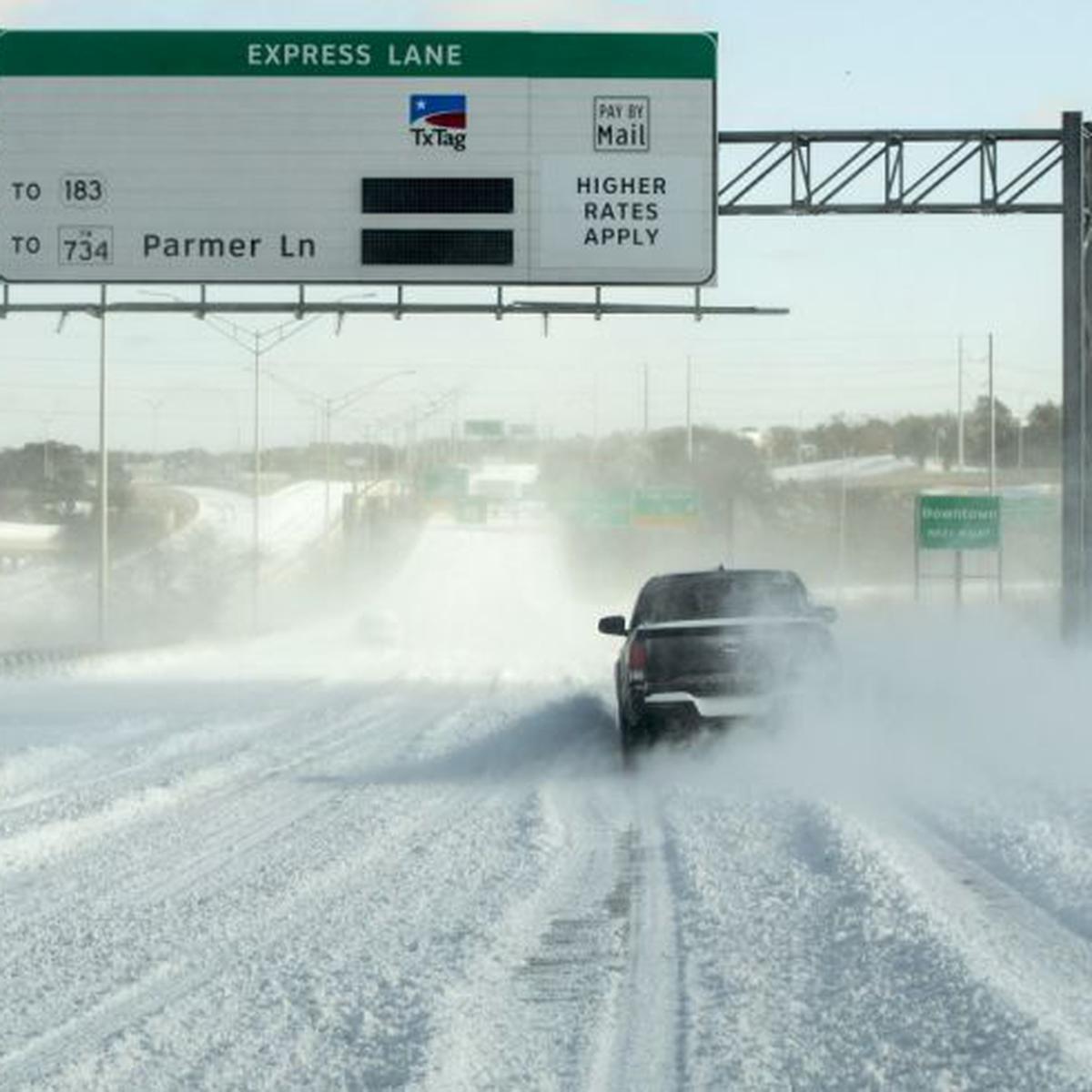 Texas Tormenta Invernal Deja A Millones Sin Electricidad Estados Unidos Fotos Mundo El Comercio Perú