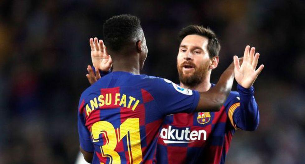 Barcelona vs. Getafe EN VIVO Con Messi, Griezmann, Ansu Fati por la Liga Santander