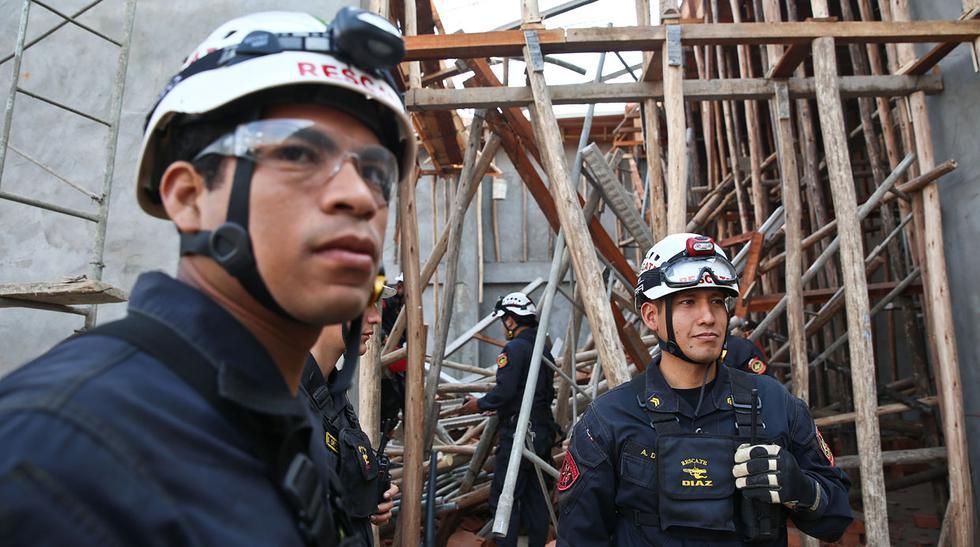 Huachipa: así quedó el techo que se derrumbó y atrapó obreros - 1