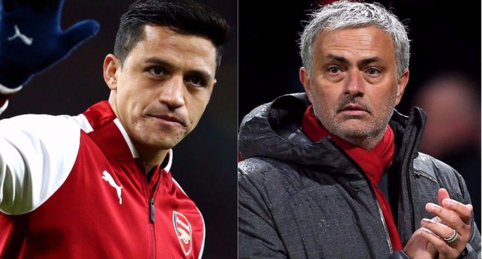 Alexis Sánchez será dirigido por Mourinho en el Manchester United. (Foto: AFP)