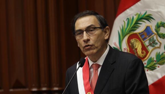 Martín Vizcarra asumió la presidencia de la República el viernes 23 de marzo tras la renuncia de Pedro Pablo Kuczynski. (Foto: Archivo El Comercio)