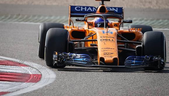 McLaren compartió con sus seguidores el primer encendido de su propulsor. (Foto: EFE).