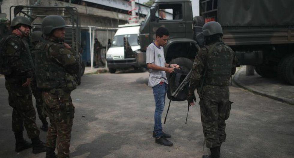 Las autoridades divulgaron un primer balance en el que señalaron que unas 1.027 personas habían sido detenidas, cifra que prácticamente se triplicó más adelante. (Foto: EFE)