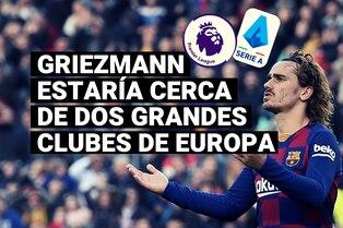 Antoine Griezmann se convierte en posible fichaje para dos poderosos clubes de Europa