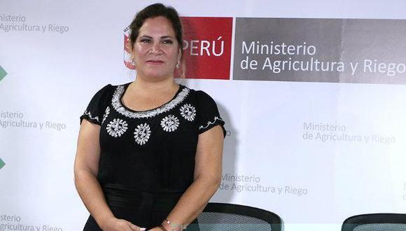 La denuncia contra Eufrosina Santa María alcanzará también a su fotógrafo Bruno Renzo Torres. (Foto: Minagri)