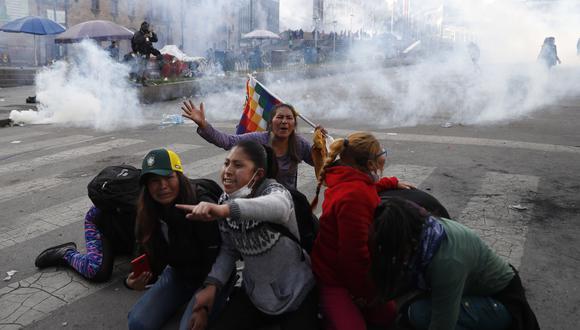 Desde el 21 de octubre, día posterior a las elecciones, hasta el 10 de noviembre, cuando Morales renunció a la presidencia, Bolivia vivió un estallido social que dejó por lo menos 29 muertos. (AP)