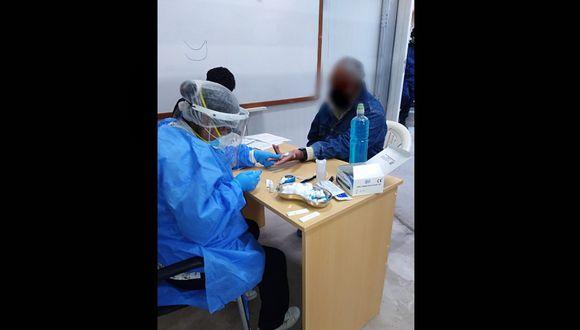 Arequipa: INPE detectó a 33 presos con COVID-19 tras tomar pruebas rápidas en penal de Camaná