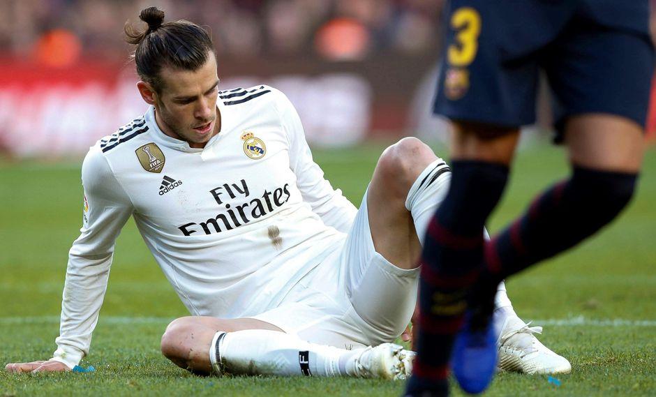 """Bale es duramente criticado por Valdano: """"A los siete minutos se le acabó la concentración""""   VIDEO. (Foto: AFP)"""