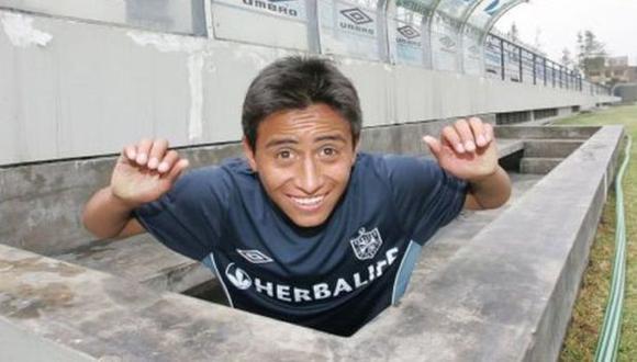 Christian Cueva debutó a los 16 años en la USMP. Hoy lo quiere Maradona para su equipo. FOTO: GEC.