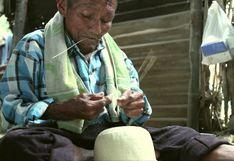 Manuel Juárez, el hombre que ha dedicado toda su vida al tejido con paja fina en Piura