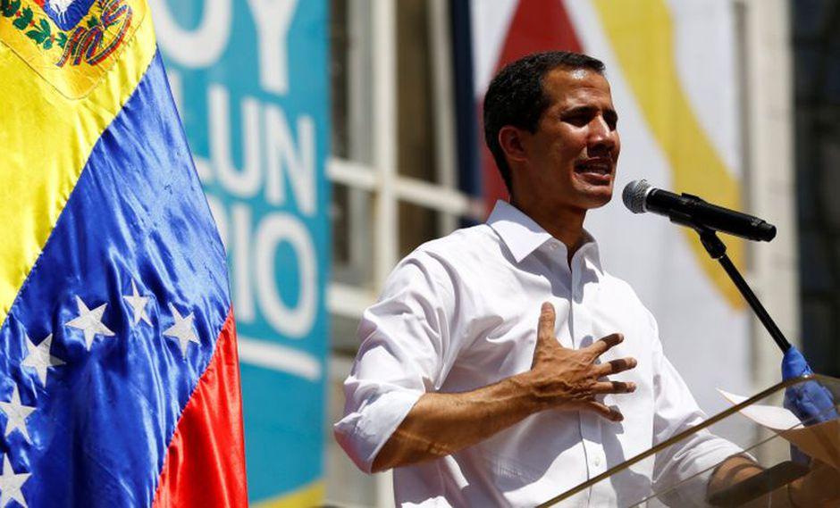 Guaidó también informó que la red de voluntarios suma ya 600.000 miembros. (Foto: Reuters)