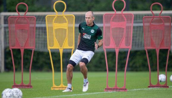 Arjen Robben salió del retiro para volver al Groningen. (Foto: FC Groningen)