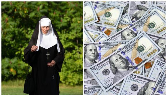 Una monja de EE.UU. roba US$800.000 de una escuela para gastarlo en casinos. (Foto: Pexels   Composición)