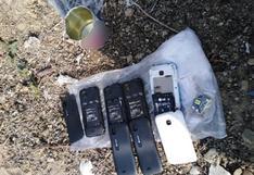 Encuentran cuatro celulares camuflados en una lata de leche en el penal de Piura
