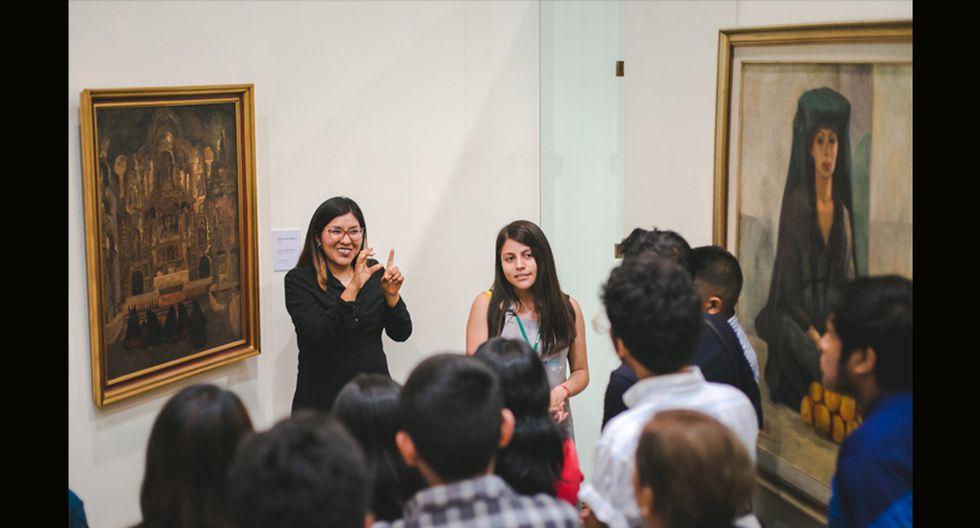 En la pinacoteca se aprecian obras de destacados artistas peruanos que desarrollaron sus pinturas desde la época de la Independencia hasta la actualidad. (Foto: BCRP)