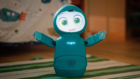 Así es Moxie, de Embodied, Inc, un robot automatizado. (Captura de pantalla)