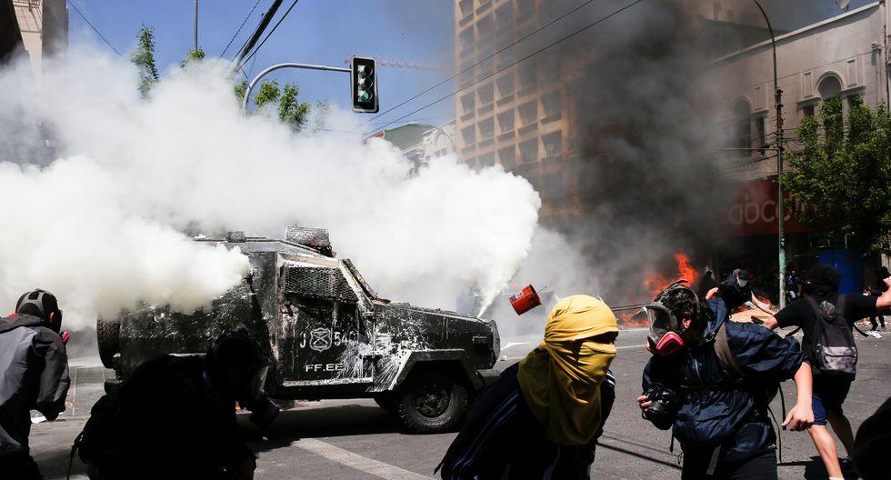"""La izquierda achaca la causa de la protesta en Chile al modelo """"neoliberal"""". (Foto: Reuters)"""