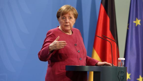 La canciller de Alemania, Angela Merkel. EFE