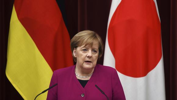 Angela Merkel se encuentra en Japón, sosteniendo una cumbre con Shinzo Abe. (Foto: AP)