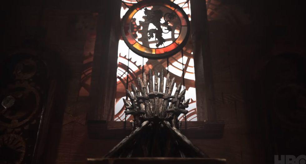 """La intro de """"Game of Thrones"""" mostró, por primera vez, al Trono de Hierro. Foto: HBO."""