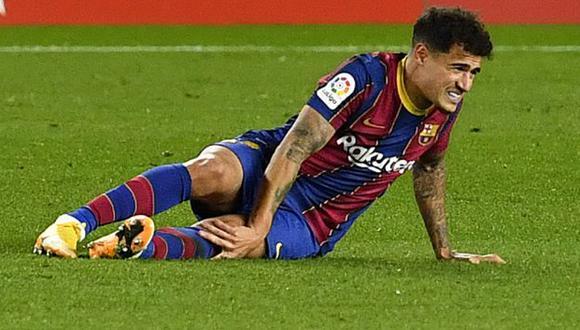 Philippe Coutinho regresó esta temporada a Barcelona luego de jugar cedido en Bayern Munich. (Fuente: Agencias)