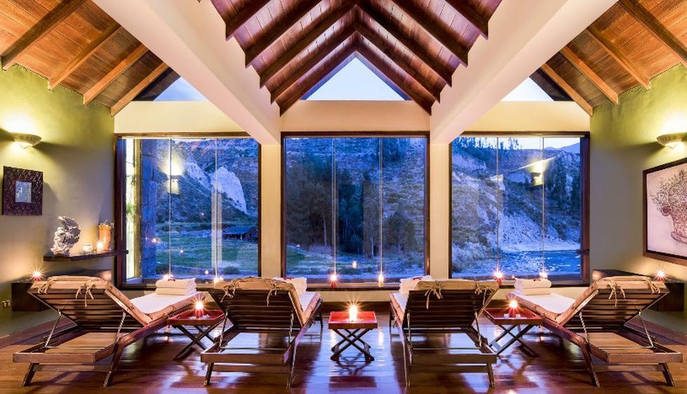 El spa del Colca Lodge ofrece masajes corporales y faciales con esencias y hierbas tradicionales del valle. (Foto: Colca Lodge)