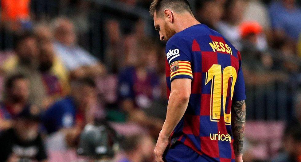 Barcelona sumó tres puntos frente al Villarreal en casa pero Lionel Messi generó preocupación al salir lesionado. (Foto: REUTERS/Albert Gea)
