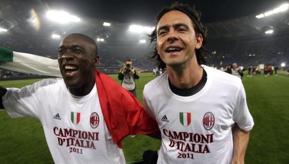 Filippo Inzaghi reemplazó a Seedorf como entrenador del Milan